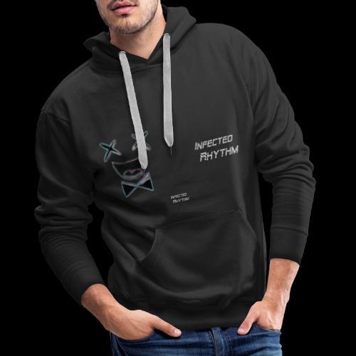 Infected Rhythm Logo Schr - Männer Premium Hoodie