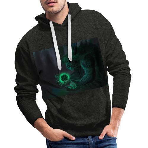 big tree - Sweat-shirt à capuche Premium pour hommes