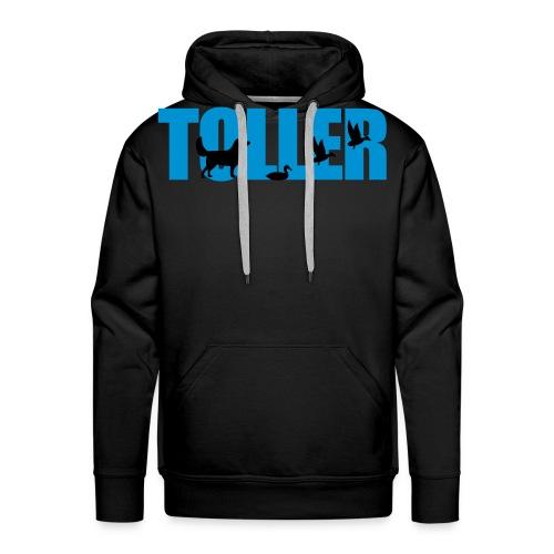 Toller Design negativ - Männer Premium Hoodie