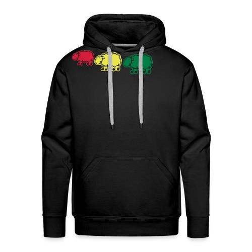 black sheep - Sweat-shirt à capuche Premium pour hommes