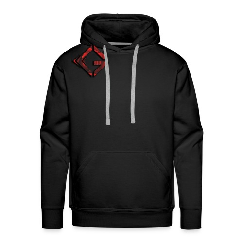 Signature Rose Logo - Men's Premium Hoodie