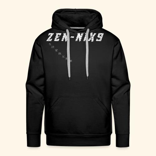 ZEN-NIX9 3 - Felpa con cappuccio premium da uomo