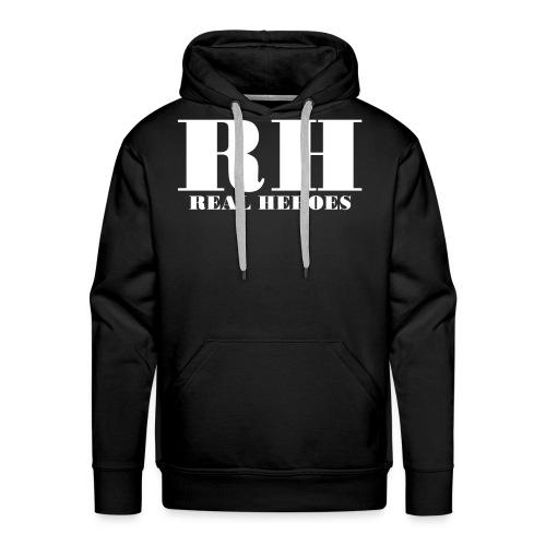 Real Heroes - Herre Premium hættetrøje