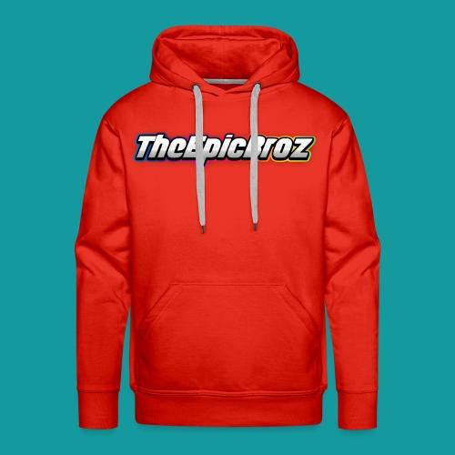 TheEpicBroz - Mannen Premium hoodie