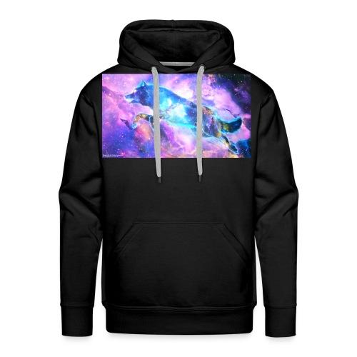 galaxy wolf - Men's Premium Hoodie