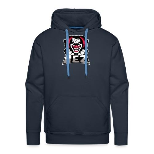 clown logo - Miesten premium-huppari