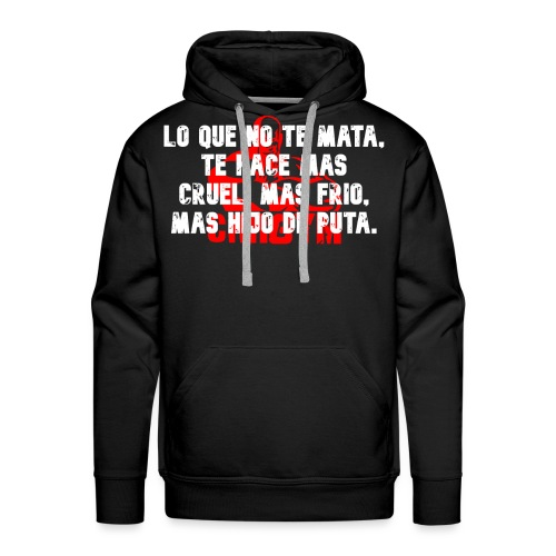 MAS HDP - Sudadera con capucha premium para hombre