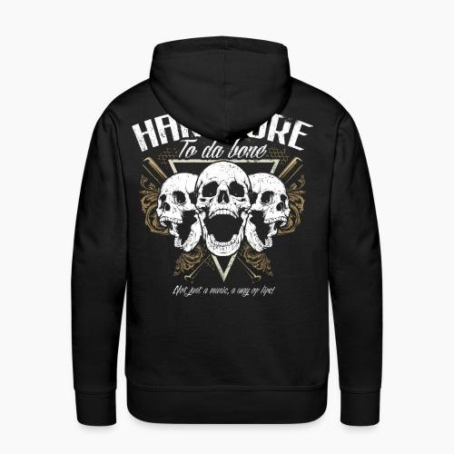 HC To Da Bone - Men's Premium Hoodie