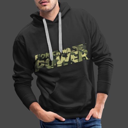 Flonichiwa Power Camouflage - Männer Premium Hoodie