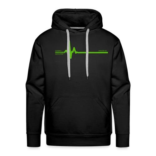 Querbeet EKG - Männer Premium Hoodie