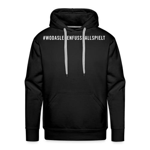 HASHTAG_WEISS - Männer Premium Hoodie