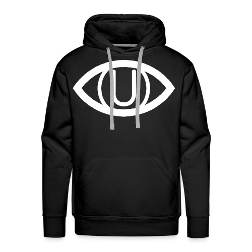 EYE SYMBOL WHITE - Men's Premium Hoodie