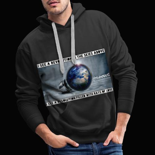 I See A Revolution!! Truth T-Shirts!! #Rebellion - Men's Premium Hoodie