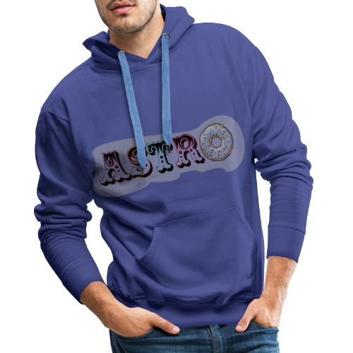 ASTRO - Sweat-shirt à capuche Premium pour hommes