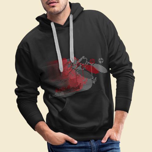 Radball | Earthquake Red - Männer Premium Hoodie