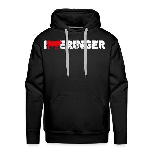 I LOVE ERINGER - Männer Premium Hoodie