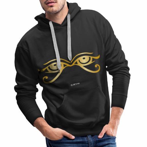 HIÉROGLYPHE CRYM - Sweat-shirt à capuche Premium pour hommes