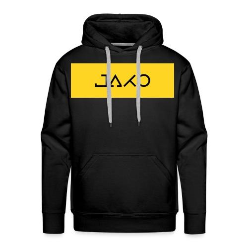 J-Yellow - Felpa con cappuccio premium da uomo