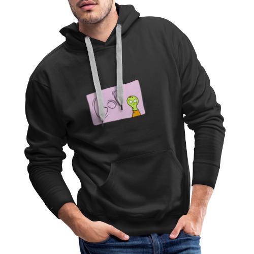 Gof Pink Design 2019 - Mannen Premium hoodie