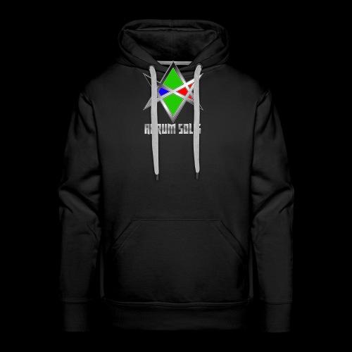 Aurum Solis – Logo - Männer Premium Hoodie