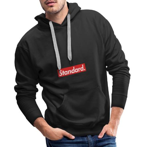 Standard style design for apparel - Men's Premium Hoodie