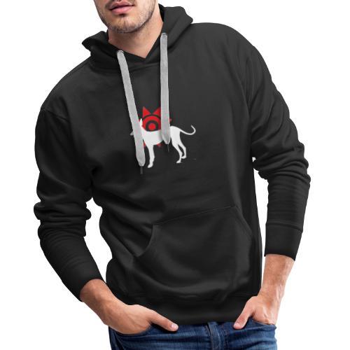 Soy on Podenco dogpin - Sweat-shirt à capuche Premium pour hommes