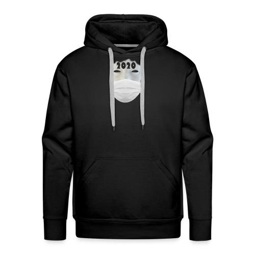 MASK2020 - Sweat-shirt à capuche Premium pour hommes