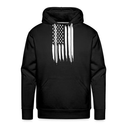 EEUU flag - Sudadera con capucha premium para hombre