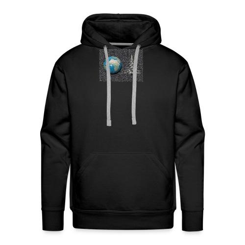 world_christmas3 - Sweat-shirt à capuche Premium pour hommes
