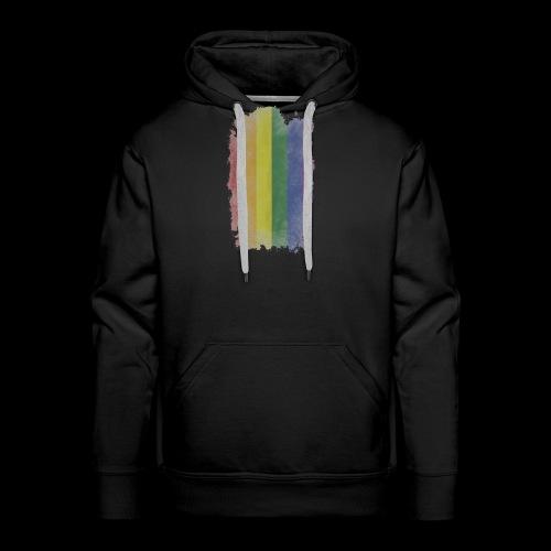 Bandera LGBTI - Sudadera con capucha premium para hombre