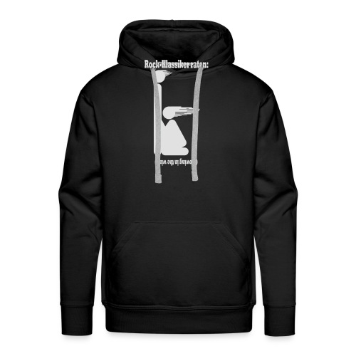 Blowing in the wind - weiss - Männer Premium Hoodie