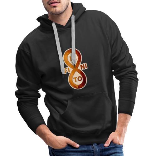 Infinito - Sudadera con capucha premium para hombre