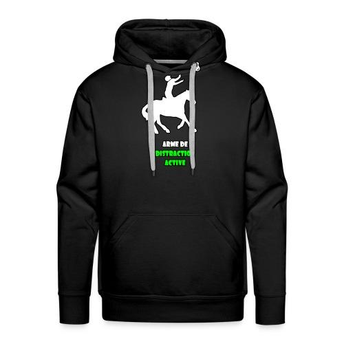 arme copie - Sweat-shirt à capuche Premium pour hommes