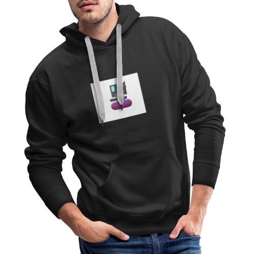 OG dis logo - Herre Premium hættetrøje