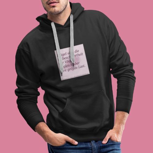 Unbeschwertheit - Männer Premium Hoodie