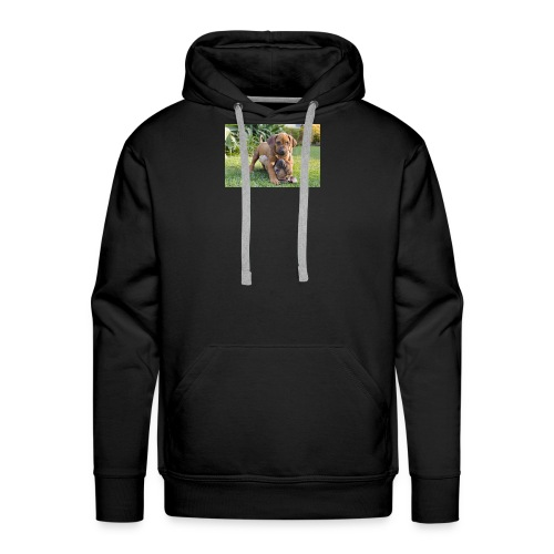 adorable puppies - Men's Premium Hoodie