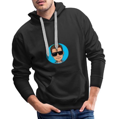 lekkere warme hoodie van mijn yt en ttv logo cool - Mannen Premium hoodie