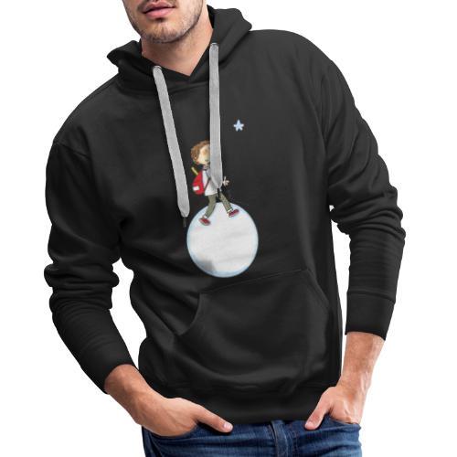 2021 08 Planète - Sweat-shirt à capuche Premium pour hommes