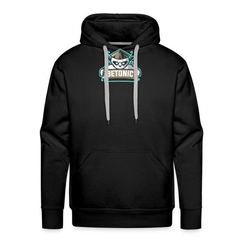 logo btc pndaa - Sweat-shirt à capuche Premium pour hommes
