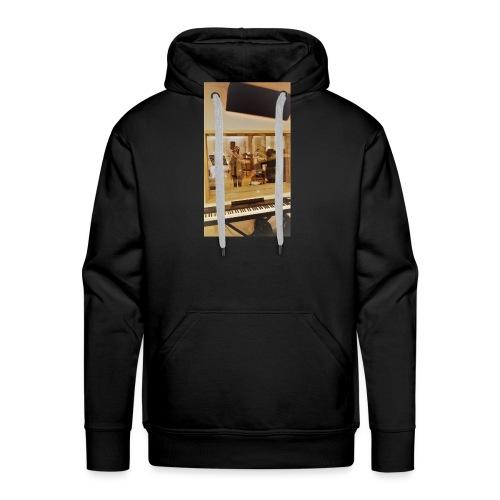 fan de caro - Sweat-shirt à capuche Premium pour hommes