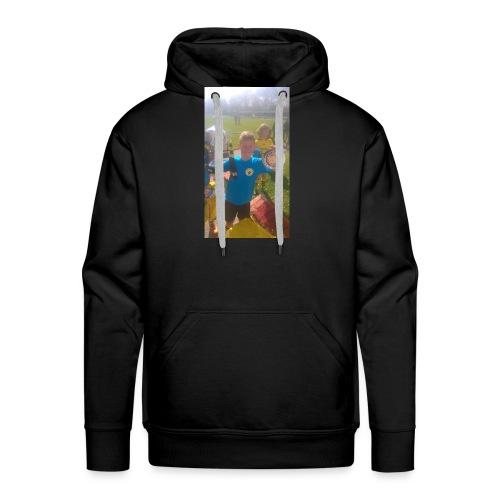zelf shirt - Mannen Premium hoodie