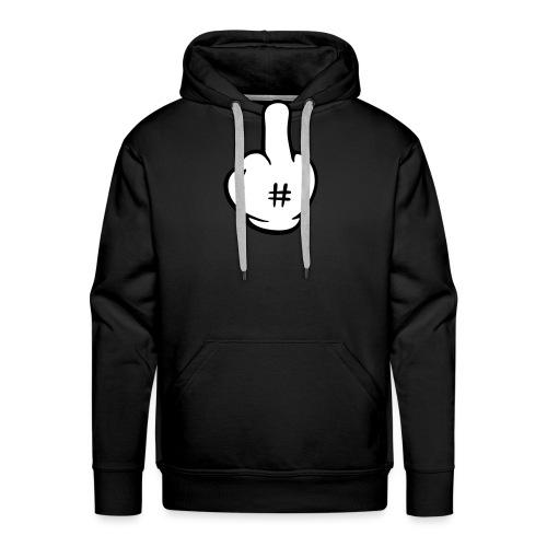 Fuck hand 2c - Sweat-shirt à capuche Premium pour hommes
