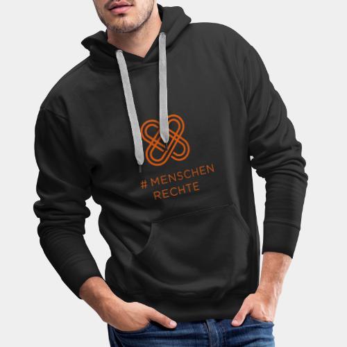 Menschenrechte Orange - Männer Premium Hoodie