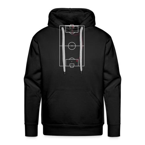Schatkaart - Mannen Premium hoodie