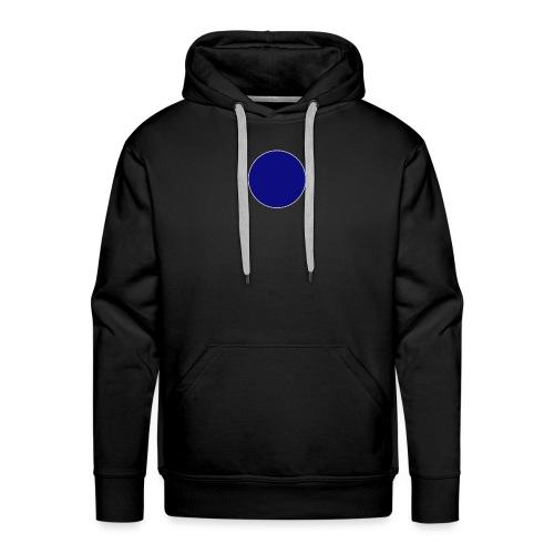 Blauer Kreis - Männer Premium Hoodie
