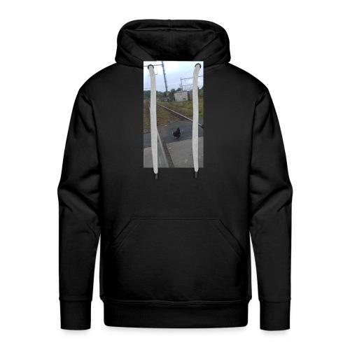 Suicidal chicken - Mannen Premium hoodie