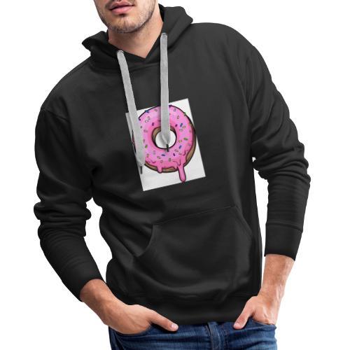 Donut derretido - Sudadera con capucha premium para hombre