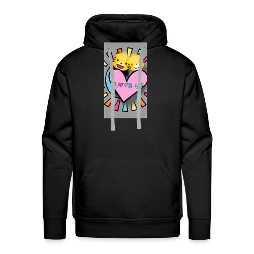 Felin - Sweat-shirt à capuche Premium pour hommes