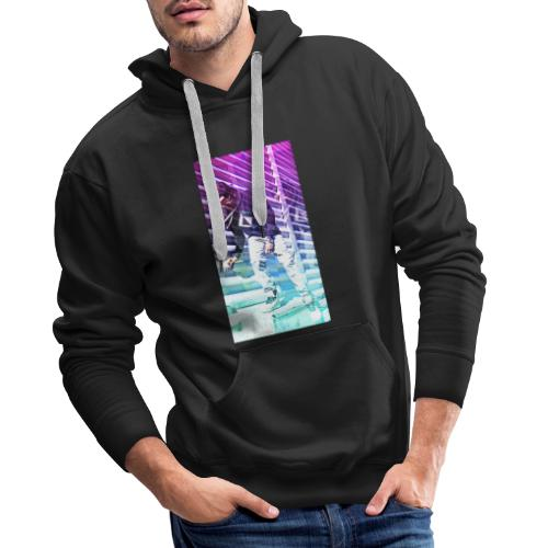 Neon HDR - Men's Premium Hoodie