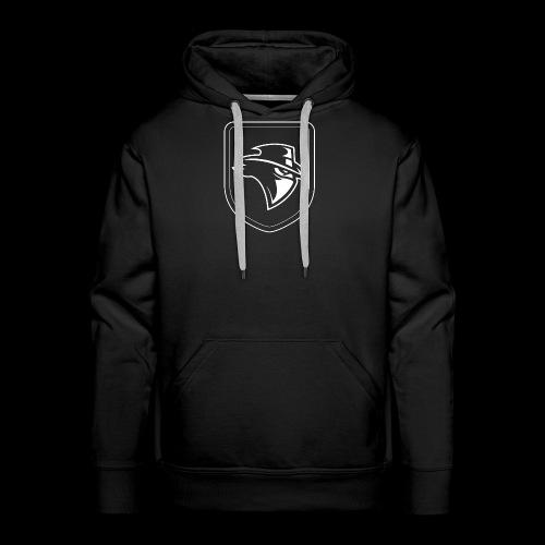 Shield Bandit - white - Men's Premium Hoodie